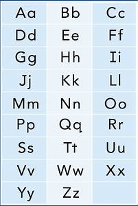 printable upper and lower case alphabet letters With upper n lower case letters