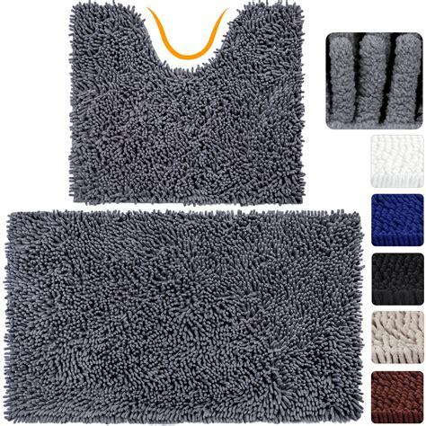 amazoncom vdomus absorbent microfiber bath mat soft