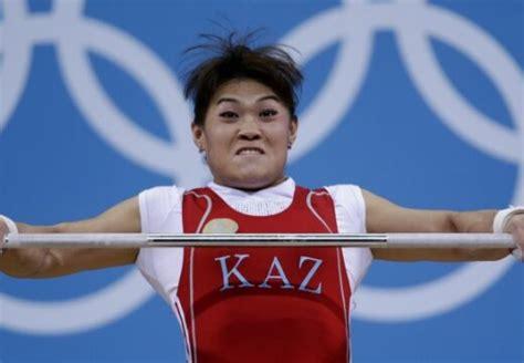 Svarcēlāja Maija Manezi atnes Kazahstānai vēl vienu zeltu Londonā - DELFI