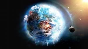 Planet, Earth, Future, Apoclypse, Fantasy, Space