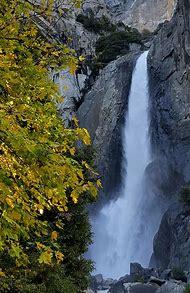 Lower Falls Yosemite National Park