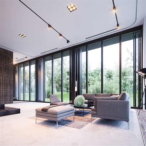 fascinating floor  ceiling windows interiors homesthetics inspiring ideas   home