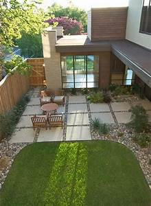Image Of Wondrous Large Concrete Patio Pavers With Wooden