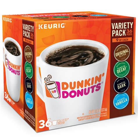 Dunkin' donuts used to have a handle for dunking the donut. Dunkin' Donuts® Dunkin Donuts® Variety Pack - K-Cup® - 36ct   Qlear