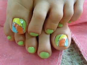 Toe nail art trend for designs
