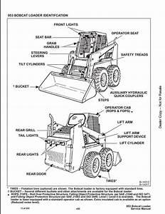 Bobcat 953 Skid Steer Loader Service Repair Workshop