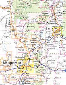Travel Map New Mexico