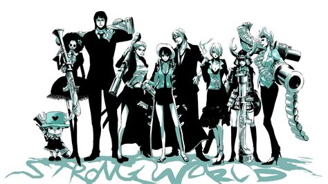 Strong World One Piece Wallpaper Wallpaper