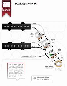 1965 Fender Jazz Bass Wiring
