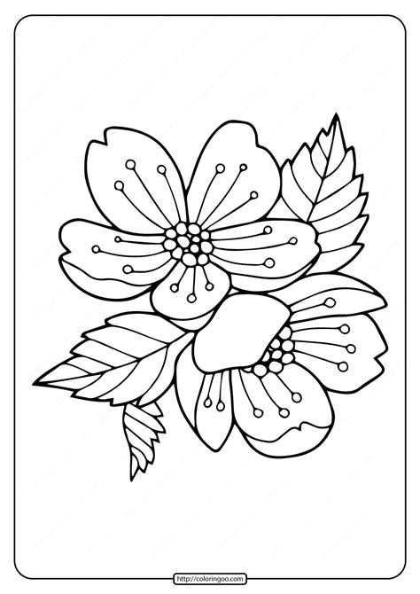 printable flower wreath coloring pages