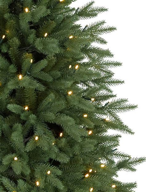 silverado slim christmas trees silverado slim led pre lit