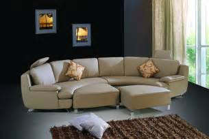 Round Shaped Sectional Sofa