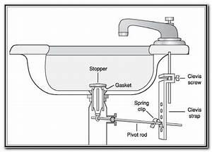 Bathroom sink stopper broken sink and faucets home for Bathroom sink stopper broken