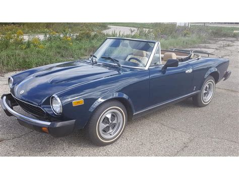 Fiat Of Schaumburg by 1979 Fiat Spider For Sale Classiccars Cc 907656