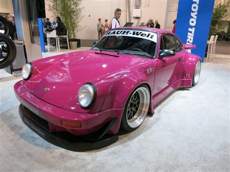porsche rwb purple sema 2013 big purple porsche 911 6speedonline