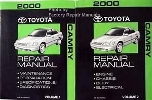 2000 Toyota Camry Factory Service Manual 2 Volume Set