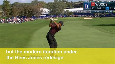 Tiger Woods misses hole-in-one by inches in his first PGA ...