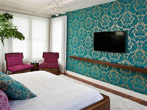 Tapete Blau Schlafzimmer by Photos Hgtv