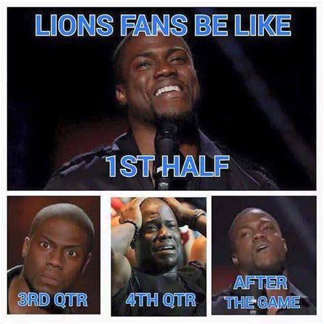 Lions Memes - every lions fan during yesterday s game detroitlions