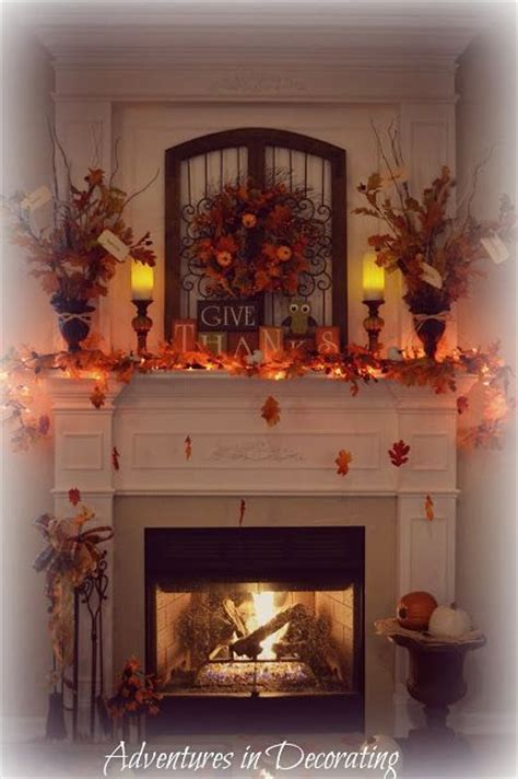 adventures in decorating mantel adventures in decorating our fall mantel holidays fall