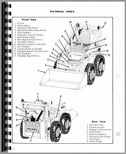Bobcat 500 Skid Steer Loader Parts Manual