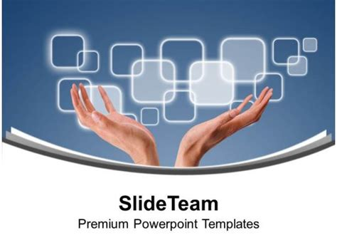 touch  technology powerpoint templates  themes