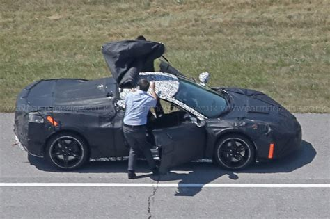Mid Motor Corvette by Mid Engined Zora Corvette Spotted Again Car Magazine