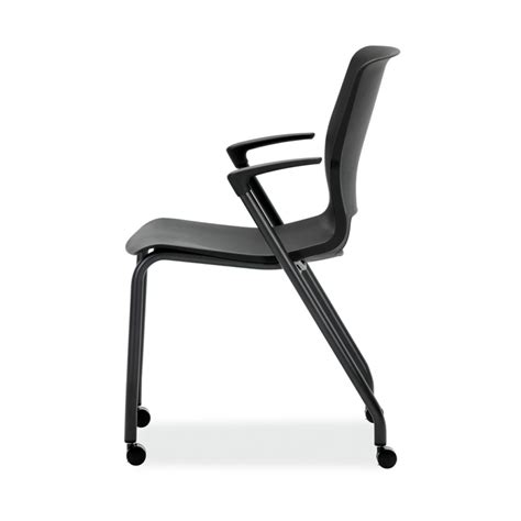 hon motivate 4 leg stacking chair atwork office furniture