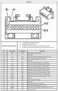 A Speaker Wiring Diagram For 2005 Chevy Malibu