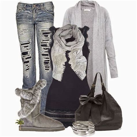 Comfy and Cute Polyvore Outfits Winter Fall - Bilder Land