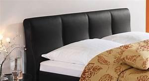 Bett Kopfteil Kissen : polsterbett aus kunstleder z b in sand kaufen toskana ~ Michelbontemps.com Haus und Dekorationen