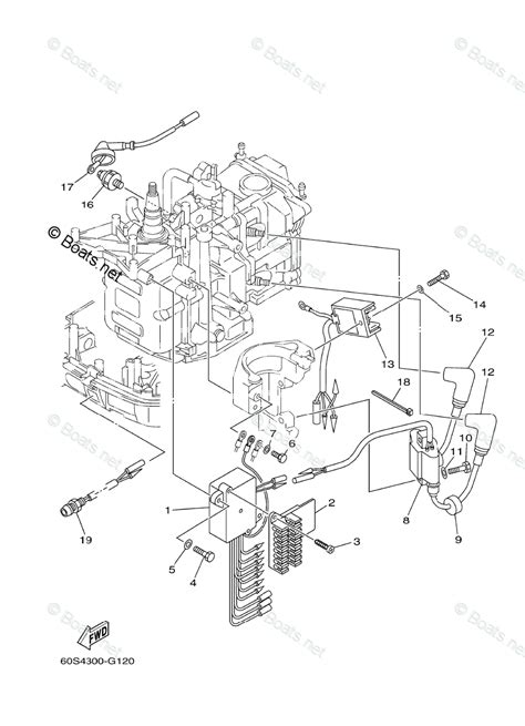 yamaha outboard parts by hp 8hp oem parts diagram for electrical 1 boats net