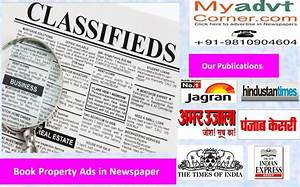 Publish Real Estate/Property Business in Any Newspaper of ...
