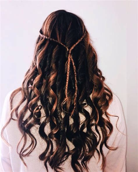 Prom curly hair (With images) Hair hacks Types of curls
