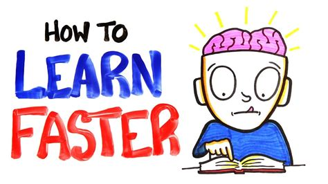 How To Learn Faster Youtube