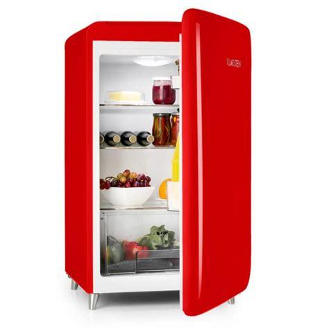 kühlschrank vintage look popart bar rot k 252 hlschrank 136l retro design 3 ebenen gem 252 sefach a