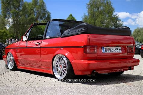 classic vw mk1 golf cabriolet bbs worthersee2017