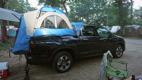 Honda Ridgeline Truck Bed Tent by Burgess Out In The Woods With The Honda Ridgeline