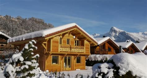 location chalet individuel chalet neuf 10 personnes morillon 4 233 toiles morillon 13054