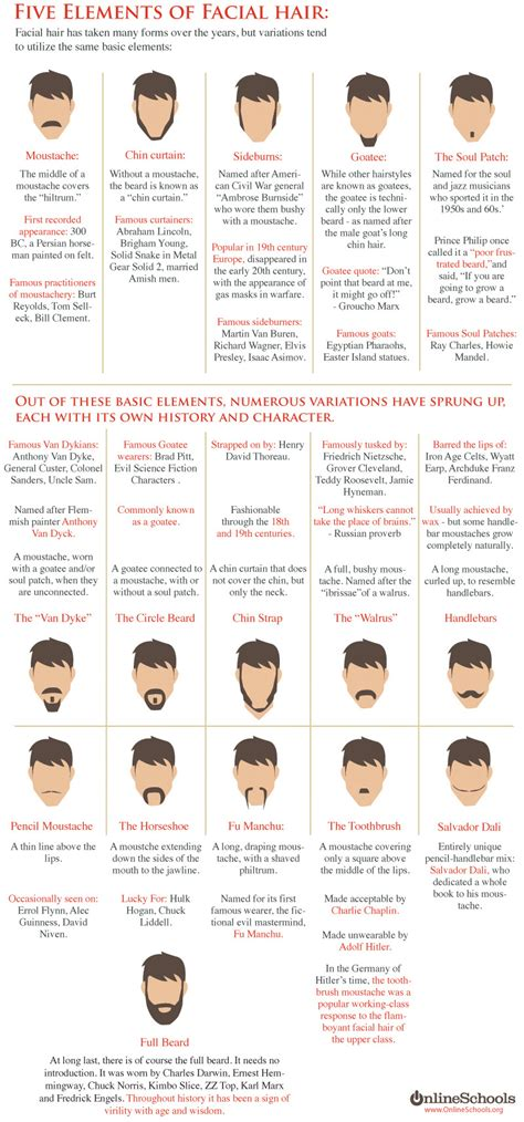 movember beard styles chartgeekcom
