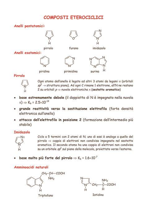chimica organica dispense pka composti organici