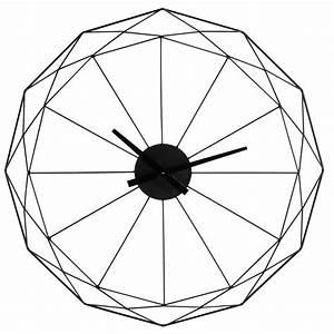 Horloge En Metal : horloge en m tal noir d 80 cm origami maisons du monde ~ Teatrodelosmanantiales.com Idées de Décoration