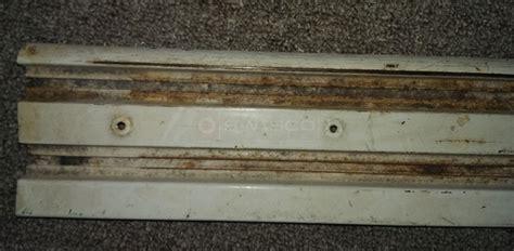 stanley closet door track 28 images replacement bottom