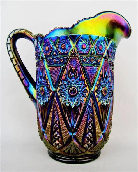 25  Best Ideas about Carnival Glass on Pinterest   Blue