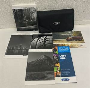 2017 Ford Explorer Owners Manual Set Oem With Case
