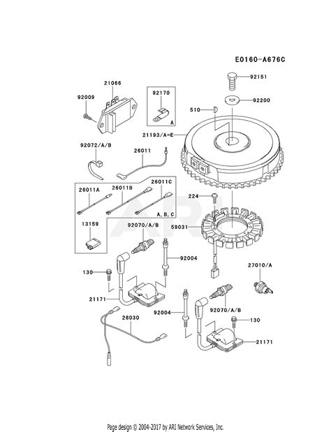 Kawasaki Fhv Stroke Engine Parts Diagram