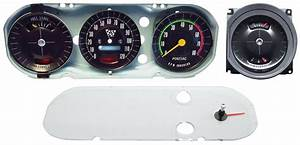 Gauge Cluster Assembly  Premium Gto Rally Gauge  Late