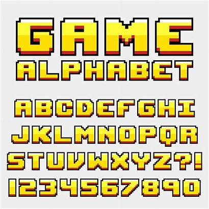 Pixel Letter Retro Vecteezy Graphics