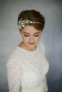 Coiffure Mariage Cheveux Courts Photos : 1001 photos pour trouver votre coiffure de mari e et les astuces savoir auparavant ~ Melissatoandfro.com Idées de Décoration