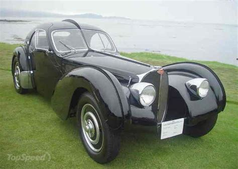 Only he or a few selected friends, mainly bugatti racing drivers, had the honour of sitting. 1936 Bugatti Type 57SC Atlantic Is The World's Most Expensive Car @ Top Speed   Bugatti cars ...